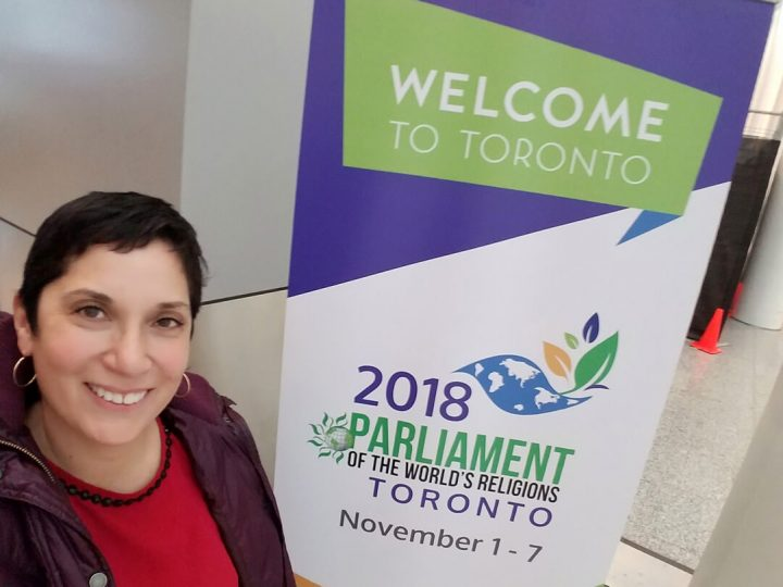 2018 Parliament of the World's Religoins Toronto Rvnd. Mary-Rose Engle