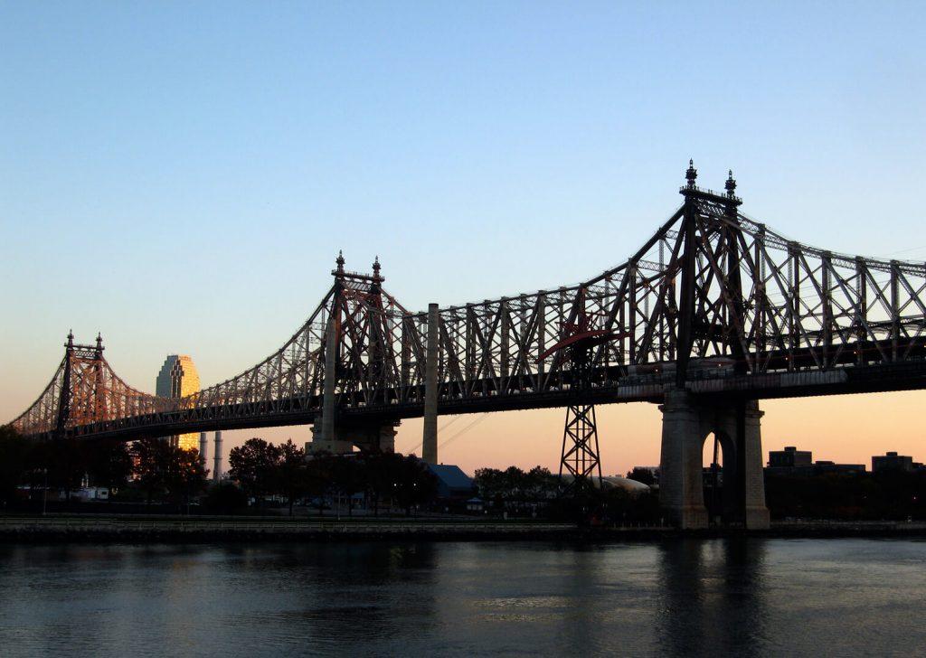 Queensboro Bridge at sunset