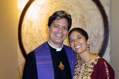 Reverends Mary-Rose and Todd Engle wife and husband Interfaith Ministers