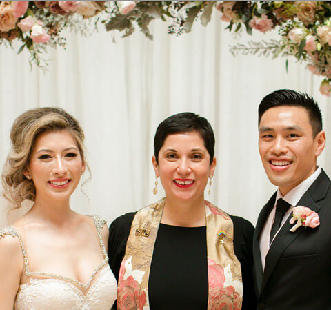 Asian couple married at Asian Art Museum San Francisco
